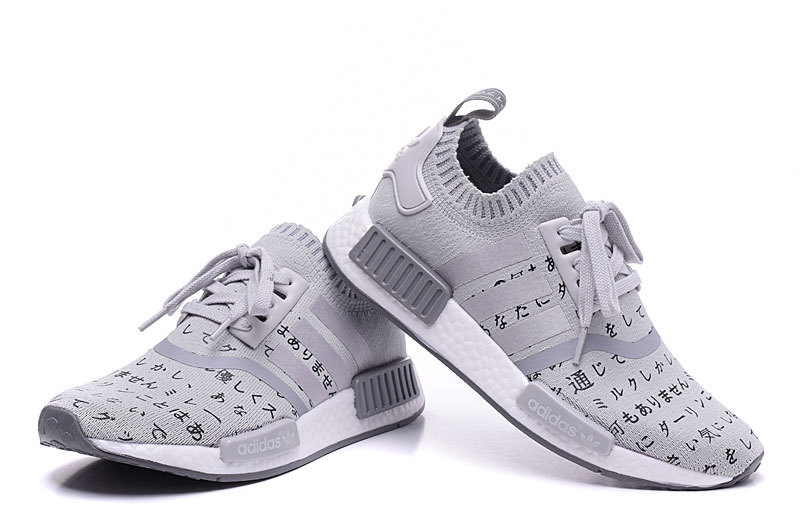 Adidas Nmd Runner Pk Japan Grey White New Release