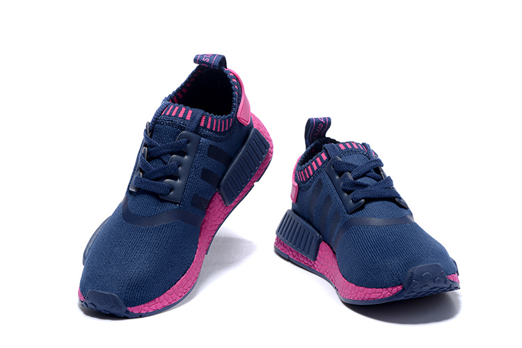 Adidas NMD Runner women shoes blue red