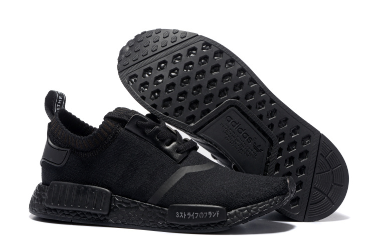 Adidas NMD Runner Triple Black Boost men women