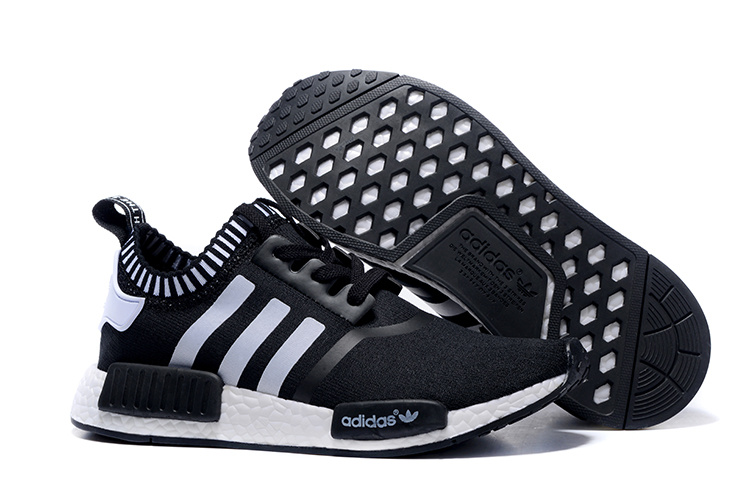 Adidas NMD Runner black White men women