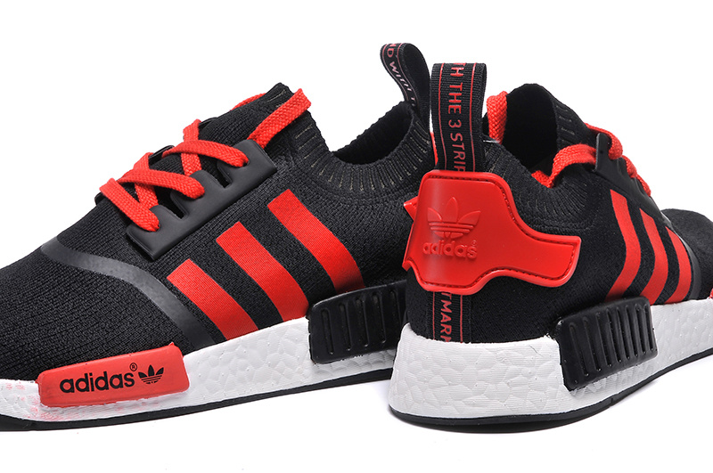 Adidas NMD Runner men women Black Red