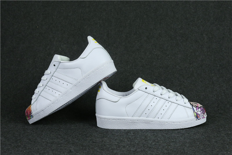 Womes Adidas Superstar 80s Metal Toe White
