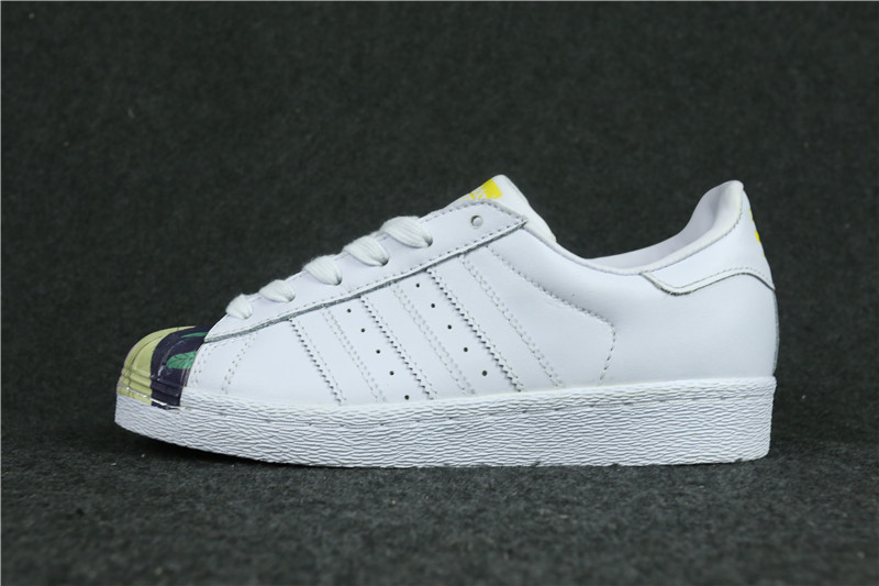 Womes Adidas Superstar 80s Metal Toe Japanese geisha
