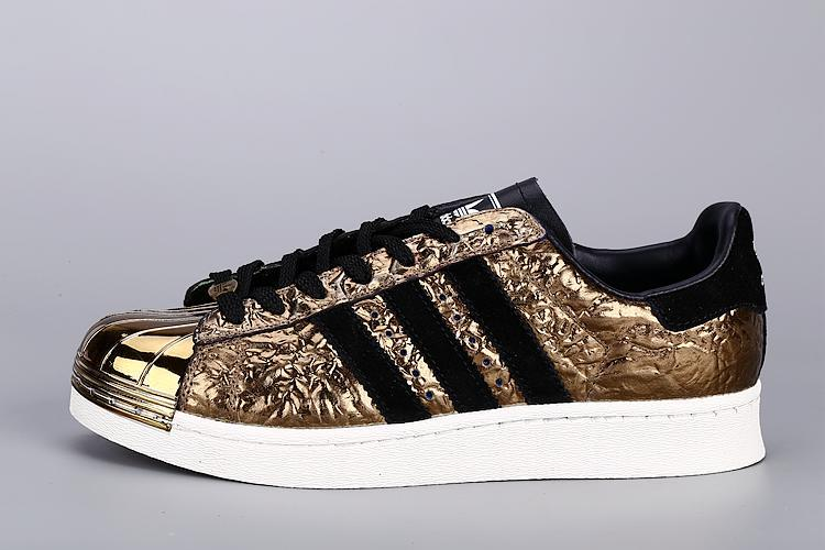 Womes Adidas SUPERSTAR METAL Golden