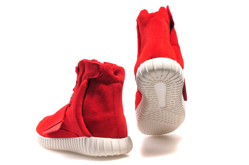 Mens Adidas Kanye West Yeezy3 750 Boost Red