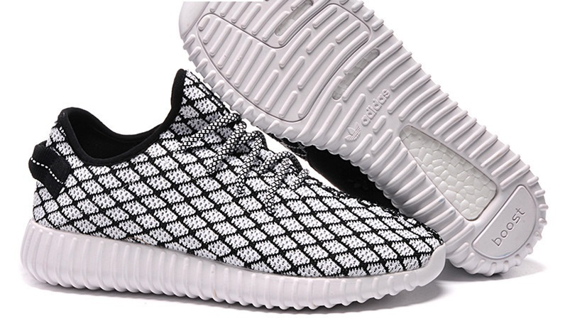 Mens Adidas Yeezy Boost 350 Low Kanye West Black White
