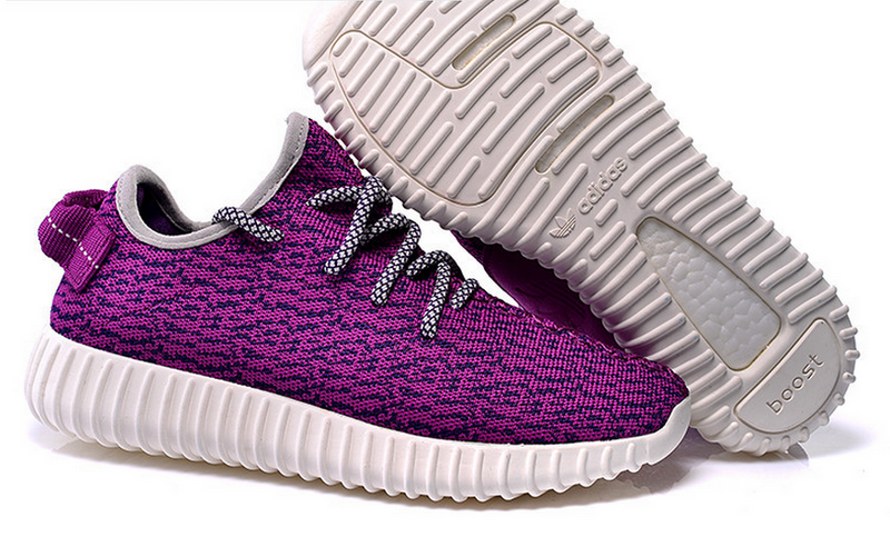 Womens Adidas Yeezy Boost 350 Low Kanye West Purple
