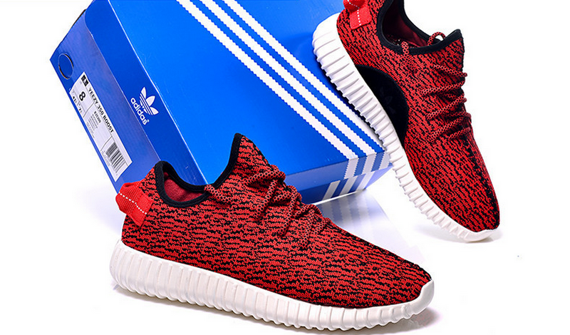 Womens Adidas Yeezy Boost 350 Low Kanye West Red