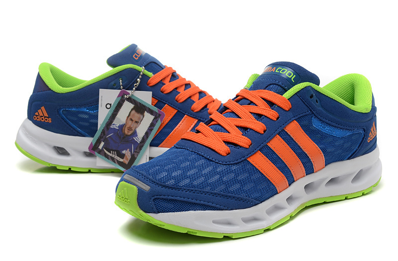 adidas Performance Men\'s Galaxy Elite Running Shoe Blue/Orange