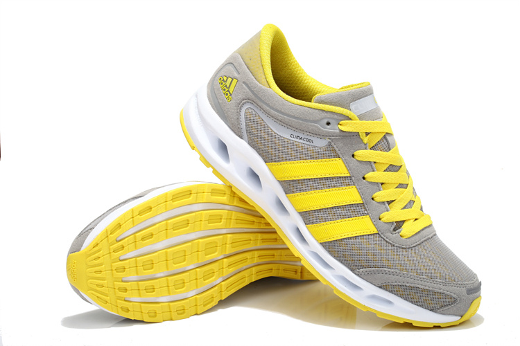 adidas Performance Men\'s Galaxy Elite Running Shoe Gray/Yellow