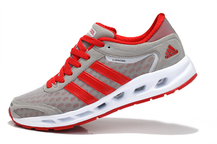 adidas Performance Men's Galaxy Elite Running Shoe Gray/Red